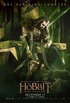The Hobbit: BotFA poster... can't wait!!!