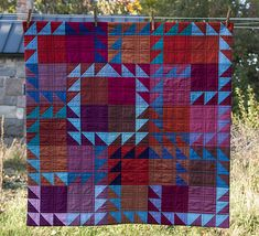 Plaid Patchwork Quilts Find This Pin And More On Quiltingpart 2 Plaid Patchwork Quilt Patchwork Plaid Toddler Bedding Amish Quilts, Scrappy Quilts, Sampler Quilts, Flannel Quilts, Textiles, Flying Geese Quilt, Half Square Triangle Quilts, Contemporary Quilts, Traditional Quilts