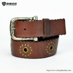 Ladies Wavy Leather Belt for AERO-JDLA13159