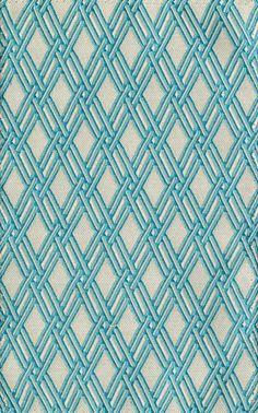 Tissu en coton et polyester, Basket Form ( Robert Allen)