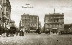 Roma Sparita - Piazza Barberini Big Ben, Notre Dame, Louvre, History, Building, Travel, Memories, Antique, Retro