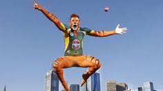 James Pattinson Cricket Bodypainting