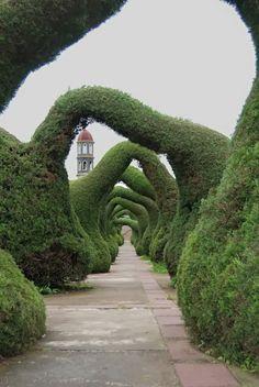 Zarcero Topiary Gardens, Costa Rica.