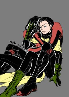 My art robin Nightwing Damian Wayne dickgrayson
