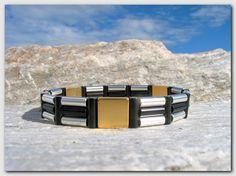 Magnetarmbånd - Modell #4 - www.magnethelse.no