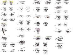 Eye drawing reference anime 33 manga and anime character eye references Cartoon Drawing Tutorial, Cartoon Girl Drawing, Manga Drawing, Drawing Tutorials, Manga Eyes, Anime Eyes, Draw Eyes, Disney Animation, Warhammer 40k