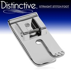 Distinctive Straight Stitch Sewing Machine Presser Foot - Fits All Low Shank Snap-On Singer*, Brother, Babylock, Euro-Pro, Janome, Kenmore, White, Juki, New Home, Simplicity, Elna and More! Distinctive http://www.amazon.com/dp/B008EKEEXC/ref=cm_sw_r_pi_dp_GnmEub1NPY9K1