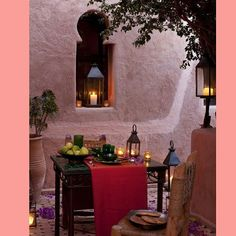 Love  #moroccan #architecture #pink #africa