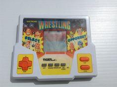Vintage Tiger Electronics Wrestling Hand Held by afunspottoshop