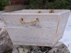 scrap lumber to wooden box
