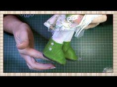 Tutorial de como hacer unas botas para muñecas   DIY - PatronesMil