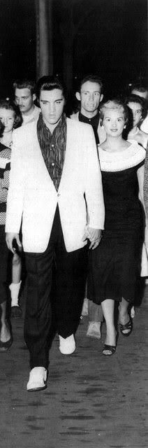 Elvis w Anita Wood attended Easter service at First Assembly of God, but had to leave when presence caused disruption 4-17-60