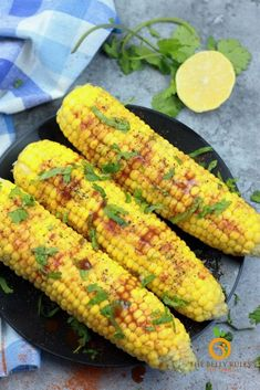 Instant Pot corn on the cob is a delicious side dish that cooks up in about 2 minutes. Save yourself the time it takes to boil it with this quick recipe.This easy side dish needs only a few ingredients and pairs well with almost any meal. Video Recipe. Stove Top recipe included. Best Vegetarian Recipes, Delicious Vegan Recipes, Easy Healthy Recipes, Great Recipes, Side Dishes Easy, Side Dish Recipes, Cheap Meals, Easy Meals, Stove Top Recipes
