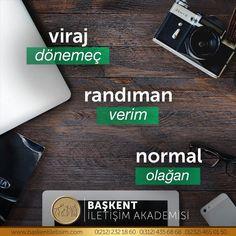 #TürkçesiVar viraj ❌- dönemeç ✅ randıman ❌- verim ✅ normal ❌- olağan ✅