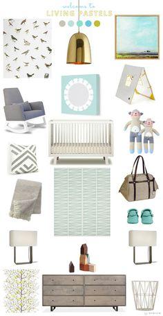 avalisa >> living pastels nursery I sun