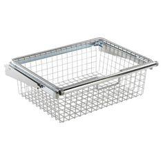 Configurations - Configurations Sliding Wire Basket - FG3J0501TITNM - Home Depot Canada