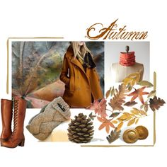 Autumn by amylaroux on Polyvore featuring Frye