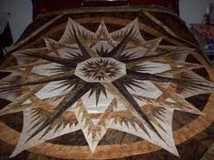Mariner's Compass, Quiltworx.com, Made by Joan Chambers