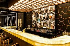Restaurant lounge ideas – Bishop Design gives an art deco taste to Caramel London – Restaurant Interior Design Restaurant Lounge, Restaurant Interior Design, Bar Counter Design, Art Deco Bar, Bar Design Awards, London Restaurants, Interior Inspiration, Caramel, Lounge Ideas
