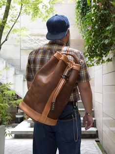 Leather Backpack, Leather Bag, Bag Men, Backpacks, Bags, Outfits, Fashion, Travel Hacks, Travel Items