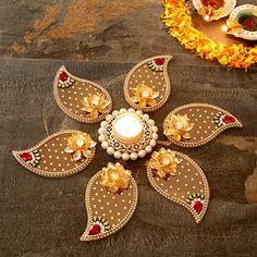 Rangoli Designs for Diwali: Buy Diwali Rangoli Online, Rangoli Stencils Diwali Decoration Items, Thali Decoration Ideas, Diwali Decorations At Home, Festival Decorations, Rangoli Patterns, Rangoli Designs Diwali, Diwali Craft, Diwali Rangoli, Diya Designs