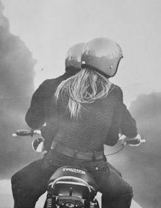 Ride a Triumph.