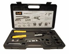 Apollo 69PTKH0015K 4 in 1 Pex Multi-Head Crimp Tool Kit