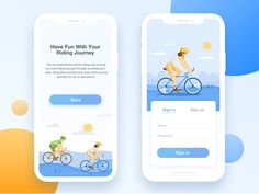 Cycling App – Notsu Minimalistic Cycling App This is a professional and fun riding app to bring you more riding pleasure through recording accurately riding data,activities and routes.More cycling activities for you to take part in. Hope you… Android App Design, Ios App Design, Android Ui, Iphone App Design, Interface Design, User Interface, Ux Design, Web Design Tips, Design Layouts