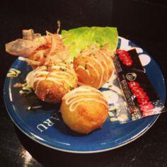 Sushi Hotaru (Melbourne CBD): Takoyaki [8/10].