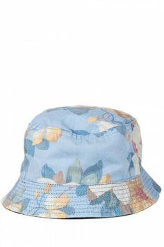 Original Penguin Floral Bucket Hat Dress Blues 2568e46b7ee7