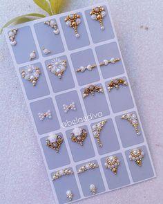 Nails Design With Rhinestones, Nail Jewels, Gem Nails, Jelly Nails, Short Nails Art, Toe Nail Designs, Bridal Nails, Rhinestone Nails, Nail Tutorials