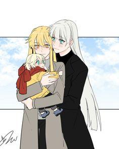 ⇢𝚏𝚘𝚕𝚕𝚘𝚠 𝚖𝚎! Anime Gifs, Anime Girlxgirl, Yandere Anime, Yuri Anime, Anime Demon, Cute Anime Pics, Cute Anime Couples, Wallpaper Animes, Lesbian Art