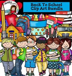 Back to school clipart set contains 38 image files, which includes 21 color images and 17 black & white images in png.The set includes: apple, backpack1, backpack2, markers, books, boy waving, boy with backpack, boy with papers, cup of crayons, eraser, girl waving, girl with backpack, girl with papers, notebook1, notebook2, school bus, pencil, school house.This clipart license allows for personal, educational, and commercial small business use.