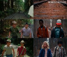 Los fotogramas paralelos: Stand By Me (1986) / Stranger Things (2016)