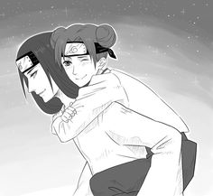 NejiTen - Neji x Tenten Boruto, Naruhina, Hinata, Sasunaru, Naruto Uzumaki, Anime Naruto, Neji And Tenten, Naruto Cute, Shikamaru