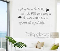 Buddy The Elf Wall Decal I Just Love By WallapaloozaDecals - Wall decals beach quotes