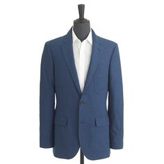 Ludlow suit jacket in houndstooth Japanese cotton : suiting   J.Crew