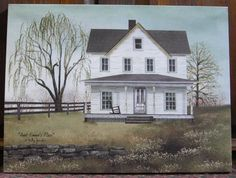 "Aunt Emma's Place - Billy Jacobs 12"" by 16"" canvas print at the Cottage Gift Shop - Elmira, NY"
