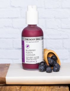 Blueberry Fusion Cleanser.