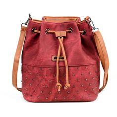 Bucket Bag Women Shoulder Bag Vintage Crossbody Women Messenger Bags Handbags Women Bags Bolsa Feminina
