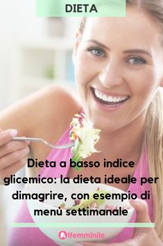 Dieta a basso indice glicemico: la dieta ideale per dimagrire The low glycemic index diet is perfect for those who want to lose weight quickly without having to give up taste! Wellness Fitness, Health And Wellness, Health Fitness, How To Stay Healthy, Healthy Life, Menu Dieta, Glycemic Index, Want To Lose Weight, Health Advice