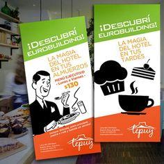 Trabajos pérezdisenio :: Eurobuilding promociones Dely Tepuy :: www.perezdisenio.com.ar