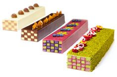 Les cakes damier de Ken Thomas
