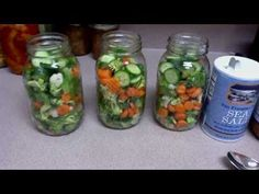 Canning Fresh Veggies