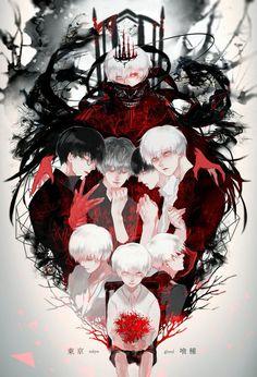「Kaneki Ken」[pixiv] https://touch.pixiv.net/member_illust.php?mode=medium&illust_id=62222501 Tokyo Ghoul