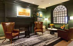 Hanover Inn Lighting Design | Architect: @Cambridge Seven Associates, Inc. | Interior Design: Bill Rooney Studios | USAI Lighting