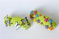 Sculpey® Personalized Barrettes
