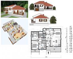 montovaný dom typ 101 rodinný na kľúč
