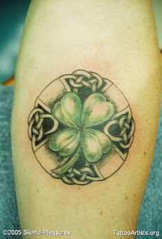 Celtic Tattoos for Women | Celtic Clover - Tattoo Artists.org