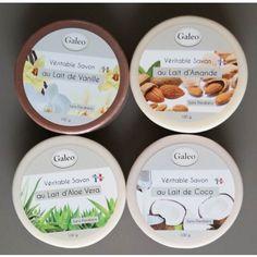 Lot de 4 savons aux laits végétaux - Couleurtropiques
